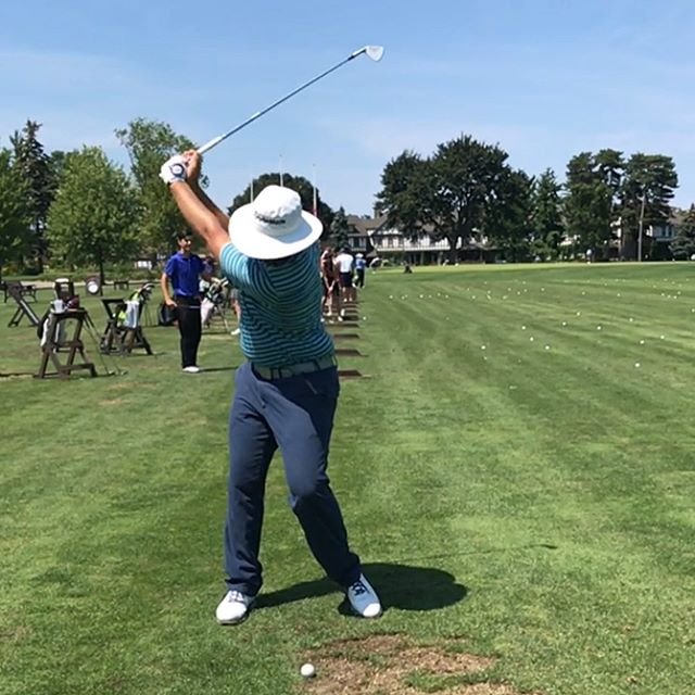 Great learning experience this week for @jhackgolf and myself @rbccanadianopen @pgatour and a special thanks to @nickstarchuk for hosting us today at Mississauga for one final tuneup! Onward and upward </p> 	</article> <!-- end .post-->